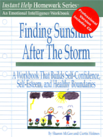 Finding Sunshine After the Storm - Professional's Workbook and CD-ROM