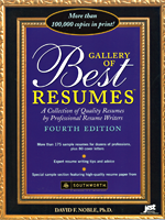 Gallery of Best Resumes, 4th Ed.