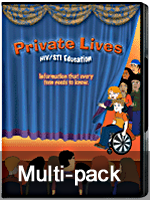 Private Lives: STI/HIV Education (CD) (5 Pack)