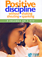 Positive Discipline Without Shaking, Shouting or Spanking (3 Vols. on DVD) (Spanish)